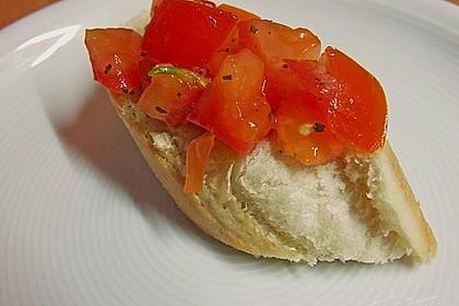 Bruschetta mit Tomaten und Knoblauch 29