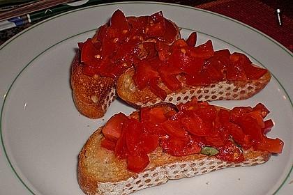 Bruschetta mit Tomaten und Knoblauch 39