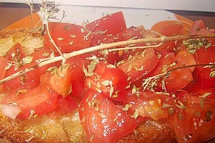 Bruschetta mit Tomaten und Knoblauch 51