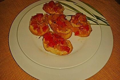 Bruschetta mit Tomaten und Knoblauch 46