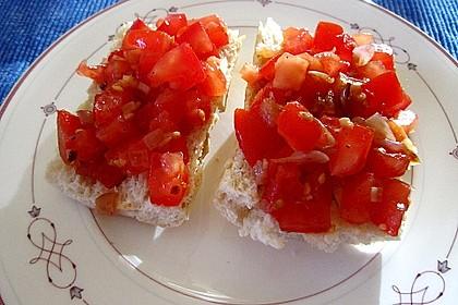 Bruschetta mit Tomaten und Knoblauch 30