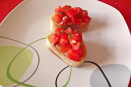 Bruschetta mit Tomaten und Knoblauch 18