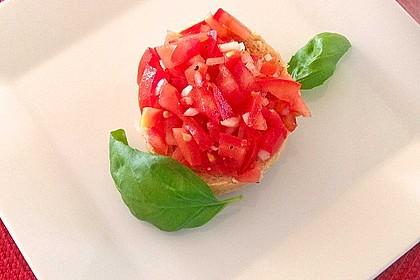 Bruschetta mit Tomaten und Knoblauch 32