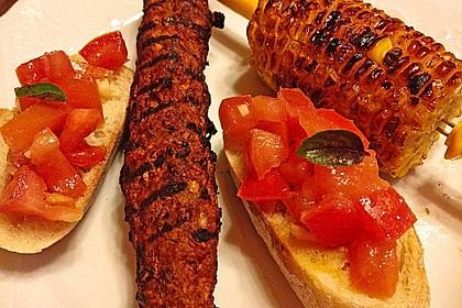 Bruschetta mit Tomaten und Knoblauch 25