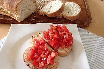 Bruschetta mit Tomaten und Knoblauch 22
