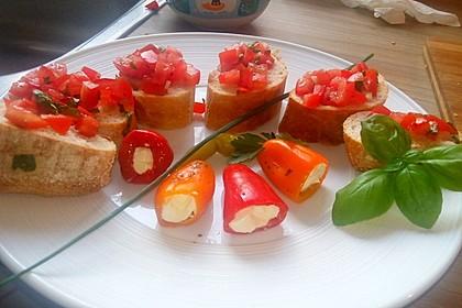 Bruschetta mit Tomaten und Knoblauch 21
