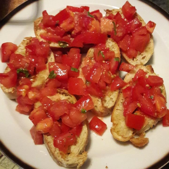 Tomaten Bruschetta und Crostini Rezepte