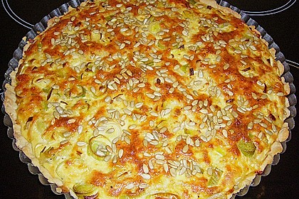 Lauch - Käse - Kuchen