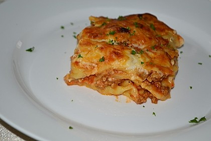 Lasagne auf Bologneser Art 1