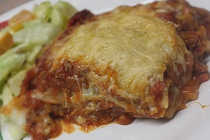 Lasagne auf Bologneser Art