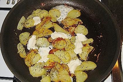 Bratkartoffeln mit Thymian und Taleggio 0