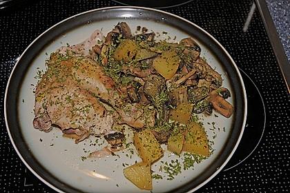 Duftendes Hähnchen aus dem Crock Pot