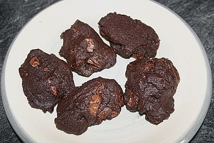 Cookies aux trois chocolats 9