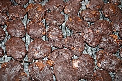 Cookies aux trois chocolats 8