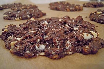 Cookies aux trois chocolats 1
