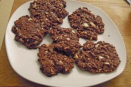 Cookies aux trois chocolats 2