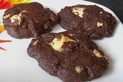 Cookies aux trois chocolats 6