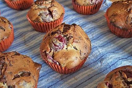 Schoko - Kirsch - Muffins 2