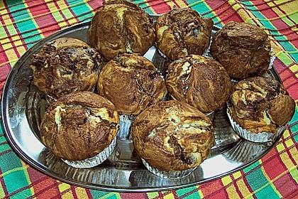 Schoko - Kirsch - Muffins 7
