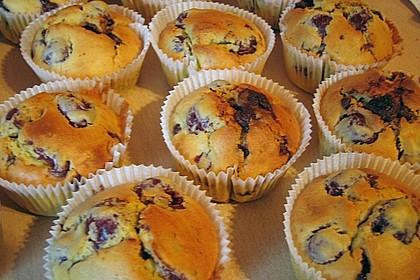 Schoko - Kirsch - Muffins 10