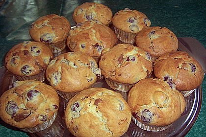Schoko - Kirsch - Muffins 3