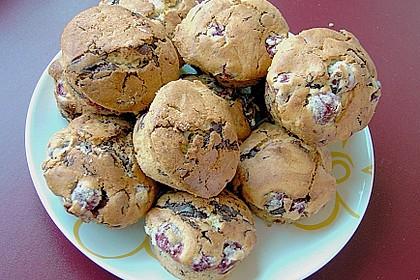 Schoko - Kirsch - Muffins 8