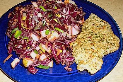 Birnen - Rotkohl Salat 3