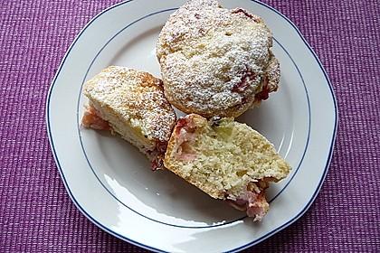 Erdbeer-Kiwi Muffins