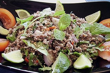 Thai - Rinderhackfleischsalat 1