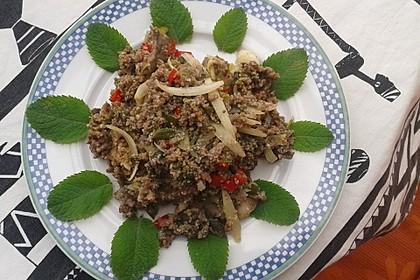 Thai - Rinderhackfleischsalat 2