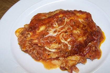 Einfache Lasagne Bolognese 5
