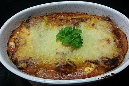 Einfache Lasagne Bolognese 1