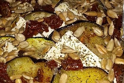 Auberginen-Zucchini-Fetapäckchen 30