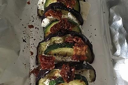 Auberginen-Zucchini-Fetapäckchen 15