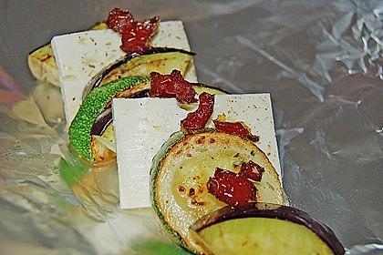 Auberginen-Zucchini-Fetapäckchen 12