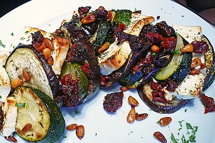 Auberginen-Zucchini-Fetapäckchen 9