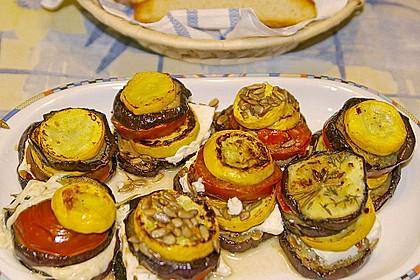 Auberginen-Zucchini-Fetapäckchen 14