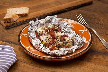 Auberginen-Zucchini-Fetapäckchen 7