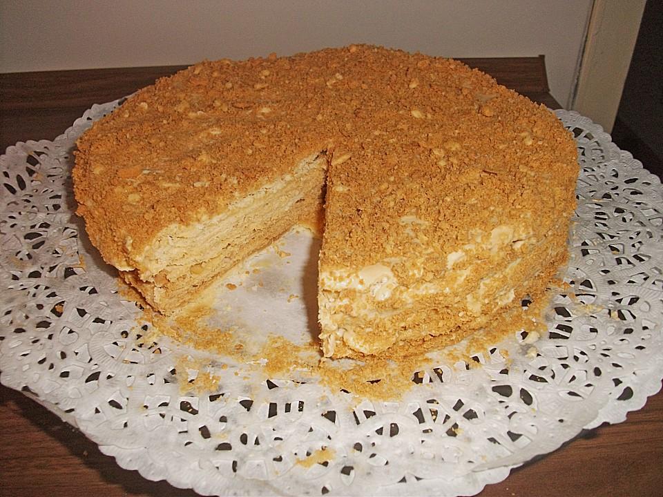 Russischer kuchen napoleon appetitlich foto blog f r sie - Kuchendeko foto ...