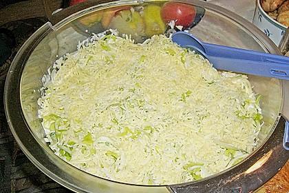 24 - Stunden - Schichtsalat mit Ananas und Mandarinen 8