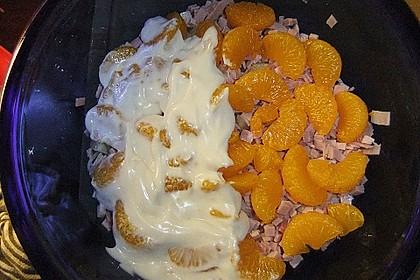 24 - Stunden - Schichtsalat mit Ananas und Mandarinen 7