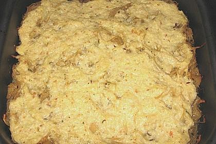 Angenehm würzige Kartoffel - Kohl - Lasagne 1
