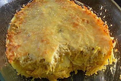 Angenehm würzige Kartoffel - Kohl - Lasagne 2