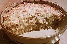 Angenehm würzige Kartoffel - Kohl - Lasagne