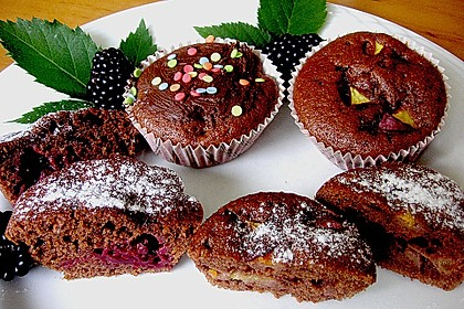 Obst - Muffins 2
