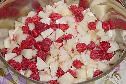Pfirsich - Himbeer - Marmelade 4