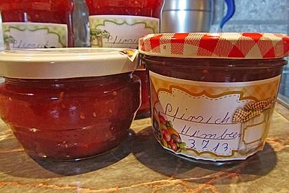 Pfirsich - Himbeer - Marmelade 3