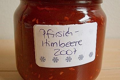 Pfirsich - Himbeer - Marmelade 2