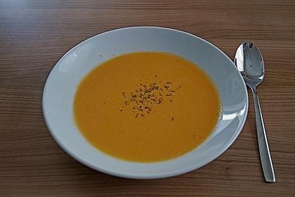Tomatensuppe mit Gorgonzola 1