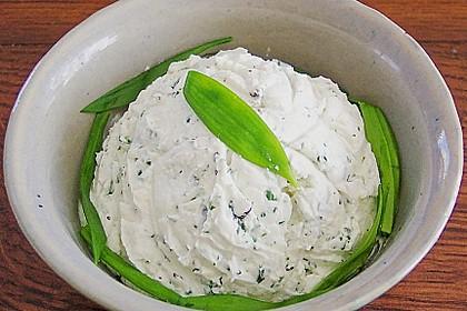 Bärlauch - Frischkäse